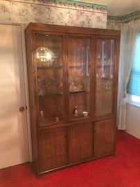 Beautiful 1950's china cabinet.