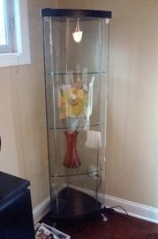 Chintaly glass curio cabinet.