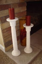 Decorator candlesticks.