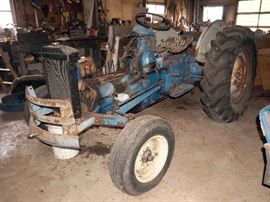 Ford 2000 Tractor, Disassembled, PTO 540
