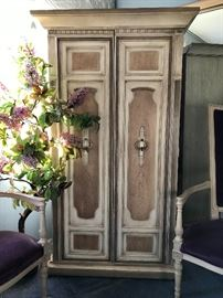 Vintage French Country Armoire