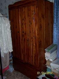 vintage Cedar Wardrobe- excellent condition -  like new