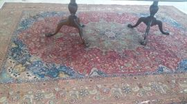 LARGE HANDWOVEN RUG FROM IRAN