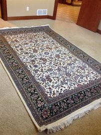 Mirs Oriental Kershan Rug From Pakistan. Recently Clean, Has Itu0026#39;s