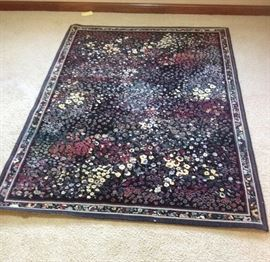 Mirs Oriental Rectangular Rug With Itu0026#39;s Own Wool Pad. Background Color