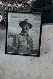 DON THE BEACHCOMBER PHOTO OF ORIGINAL ARTWORK BY FRED WILLIAMS