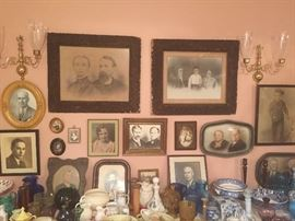 Antique portraits
