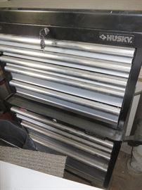 2 piece Husky tool chest