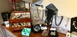 High end Costume jewelry & watches