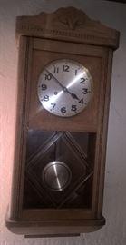 JUNGHANS GERMAN WALL CLOCK