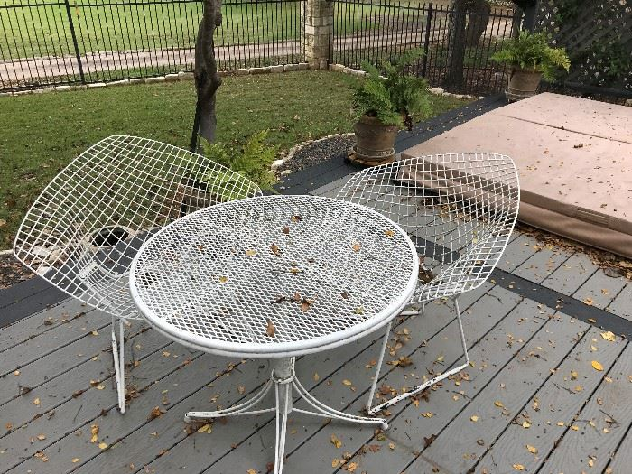 Unique Mid Modern Patio Set