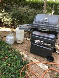 Char Broil Grill and Tanks