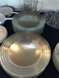 Libbey Glass Plates