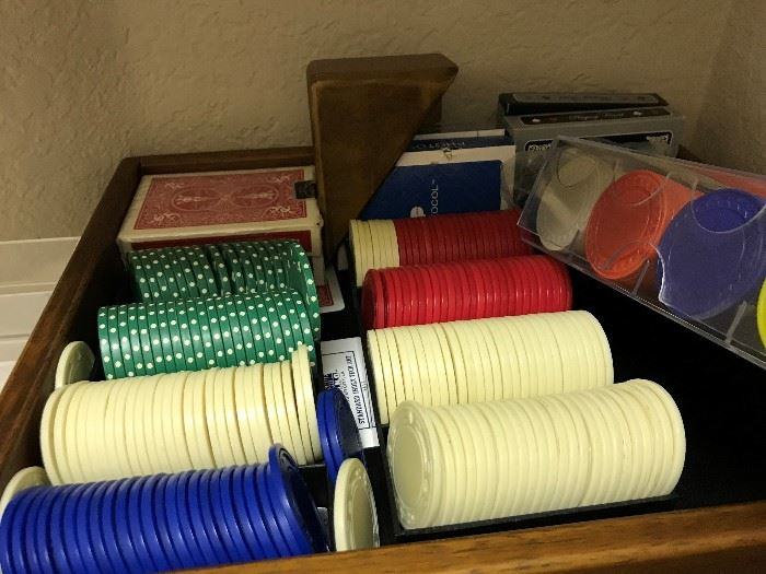 Poker Chips including Clay