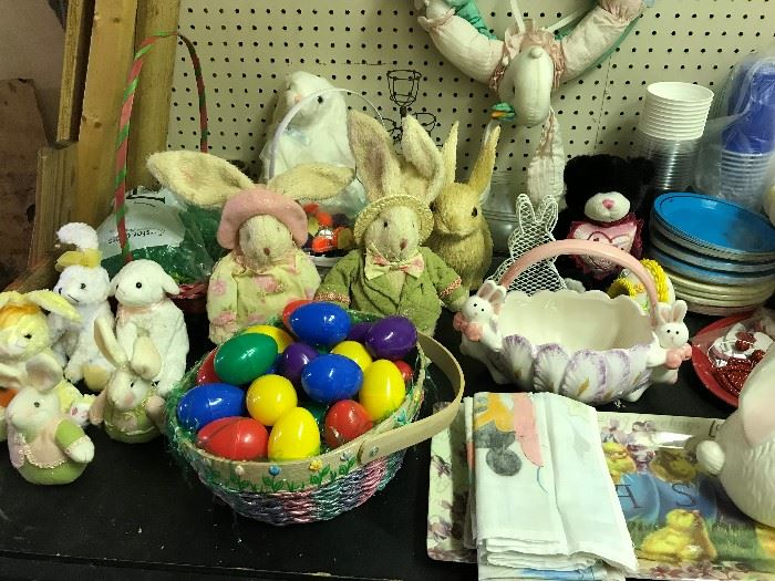 Lots of Easter Decor