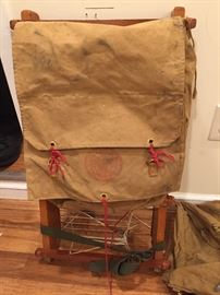 Vintage Boy Scout backpack
