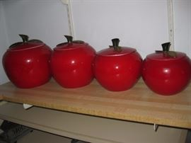Metal Apple canisters