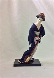 Japanese Geisha Figurine.