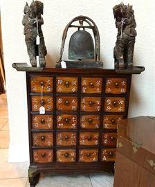 Korean medicine cabinet. $300