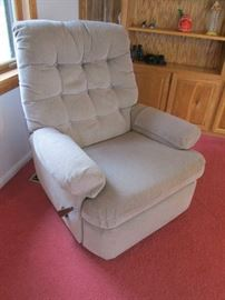 Lazy Boy Fabric Recliner