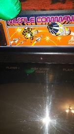 Missile Command Atari Arcade Game