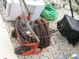 commercial electric  drain auger