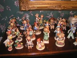 Hummel Figurines some newer some Very Old