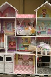 Life-size doll house
