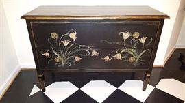 Distressed Painted Chest