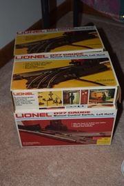 Lionel train tracks
