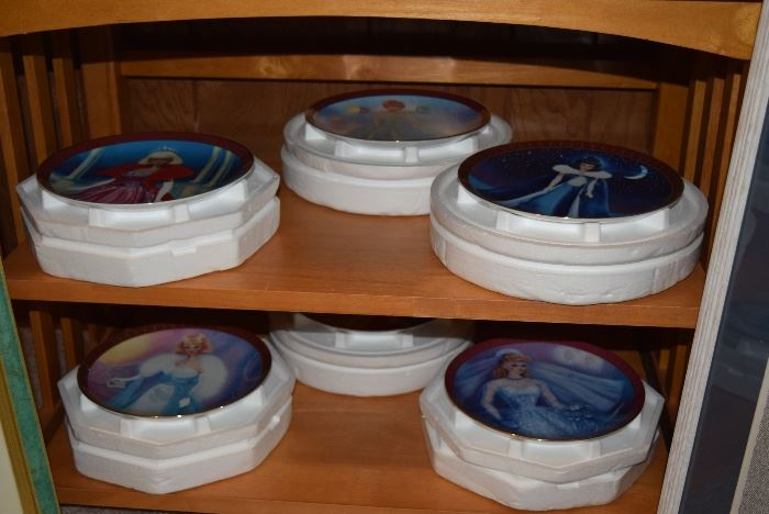 barbie collector plates