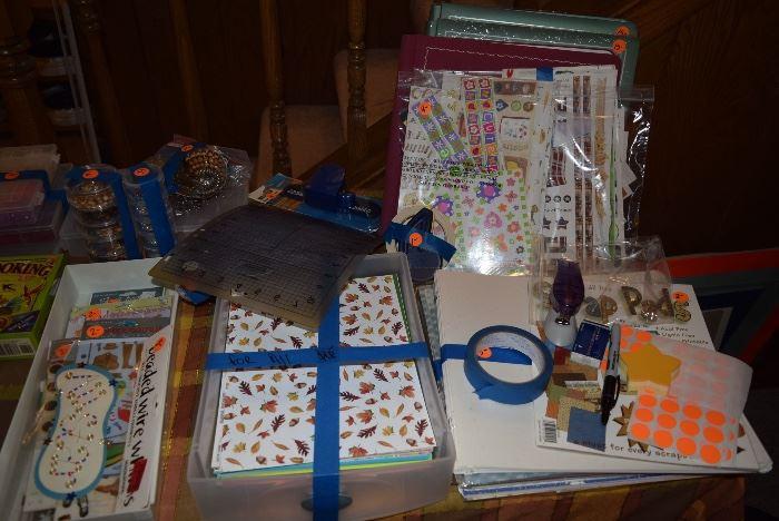scrapbooking supplies