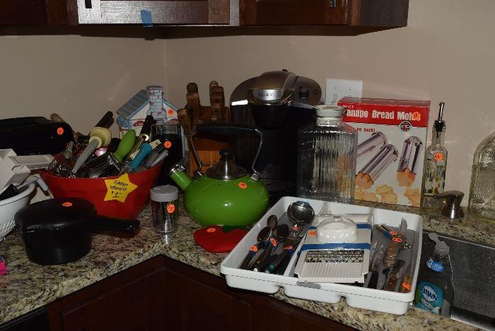 Kitchen gadgets and utensils