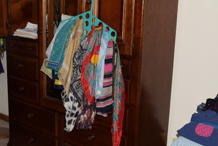 womens dress scarves