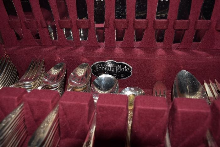 silverware Nobility Plate