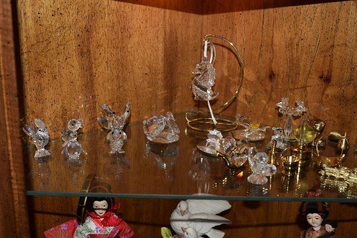 Swarovski little figurines