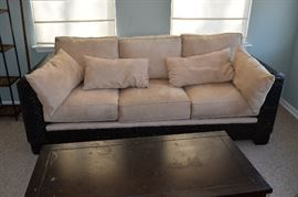 Benchcraft Wicker Sofa