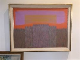 large Jack Hagman painting