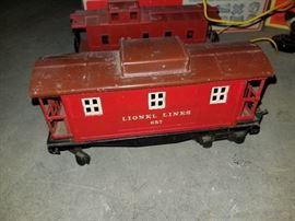 Lionel electric train caboose