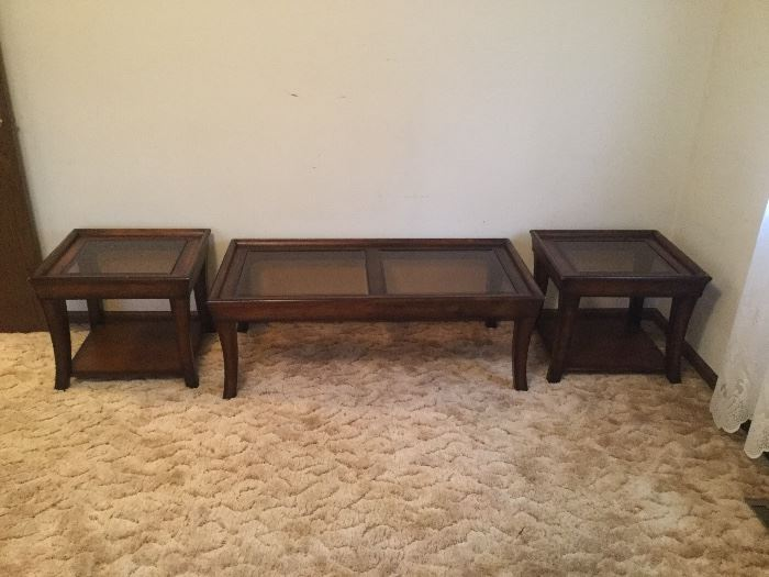 3 Pc Coffee/endtable Set $65/set
