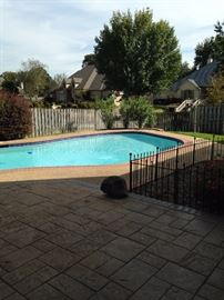 """The pool is an added """"plus"""" for this lovely home."""