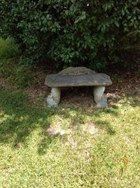 Concrete bench $65