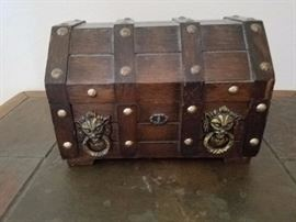 Small Chest Jewelry Box