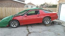 1987 IROC Z-28 Parts Car with 350 Tune Port Engine