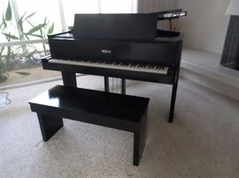 Art Deco/Cubist Steinway Circa 1938 Steinway Baby Grand Piano S Model
