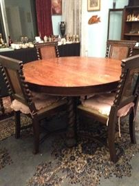 Table & chairs still available from last sale; greatly reduced.
