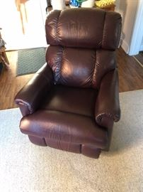 Leather La Z Boy Recliner