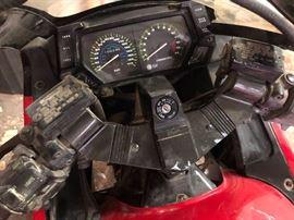 1989 Ninja 750R motorcycle. Less than 11,000 miles.   $2,500.