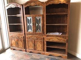 Bookshelf combo