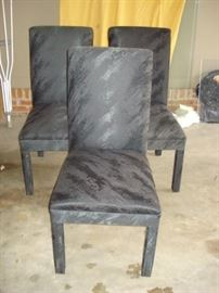 Parsons chairs  3